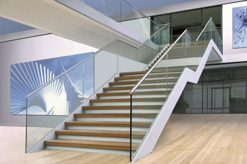 Barandillas de cristal - Barandillas para escaleras interiores modernas ...